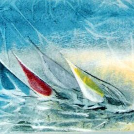 2001 Hauraki sails
