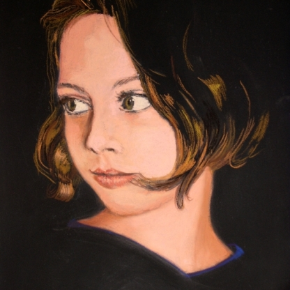 Growing Beauty (soft pastel, 2005)