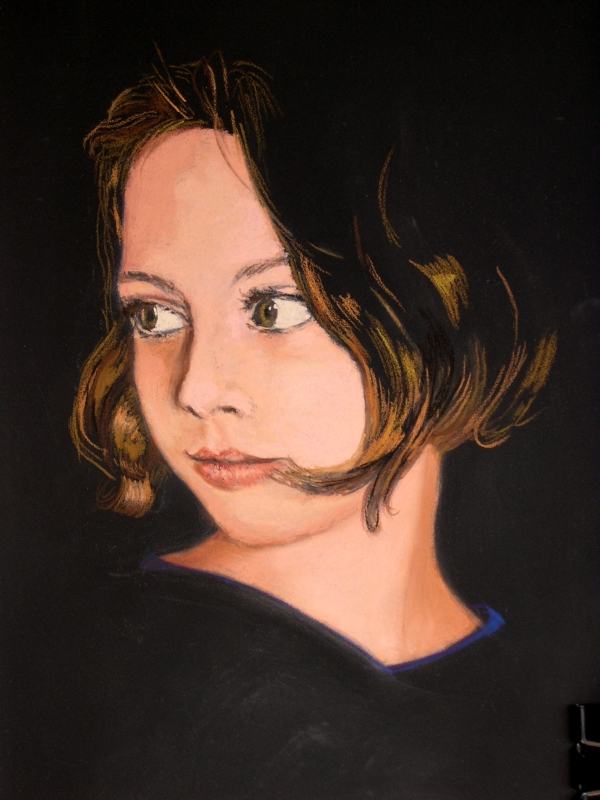 Growing Beauty (pastel, 2005)
