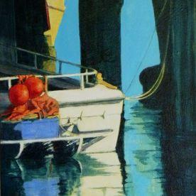 Wharfside (acrylic, 2011)