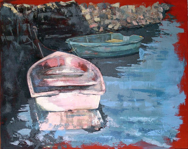 2005 Rowboats -at Karitane