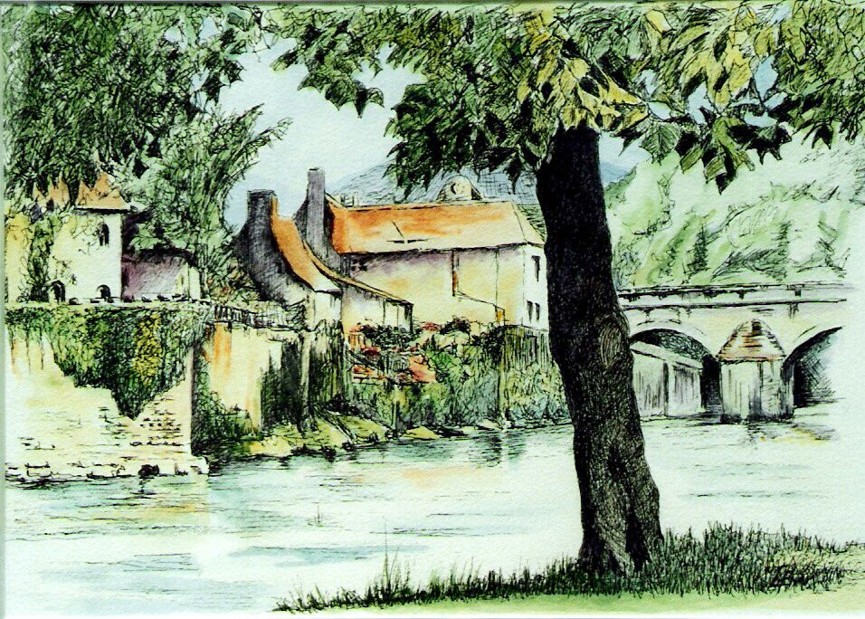 2005 River walk - Cahors France